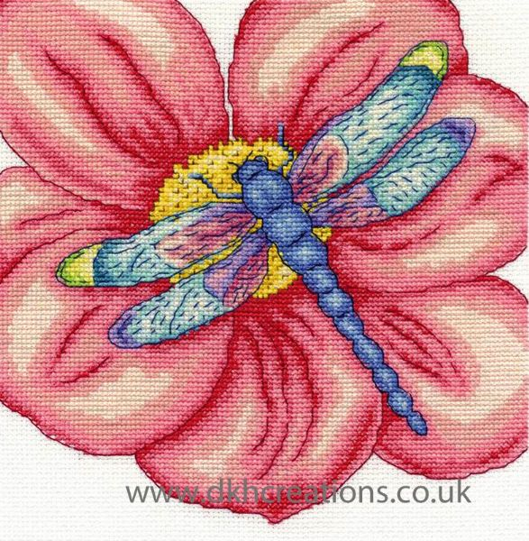 The Dragonfly Cross Stitch Kit